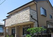 重量鉄骨住宅の一例