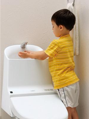 手洗いしやすいデザイン